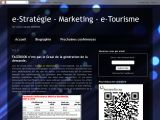 Stratgie, Marketing, nouvelles technologies et e-Tourisme