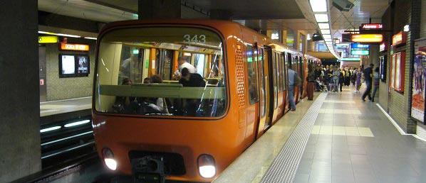 Metro Lyon station Gorge de Loup