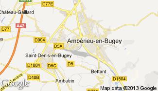 Plan de Ambérieu-en-Bugey