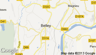 Belley 01300 for Plan de belley