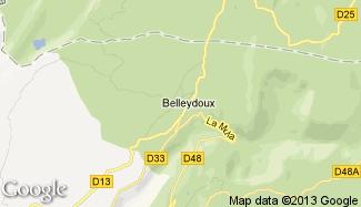 Plan de Belleydoux