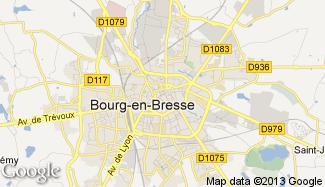 Plan de Bourg-en-Bresse