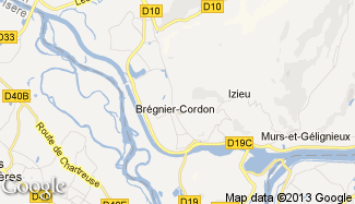 Plan de Brégnier-Cordon