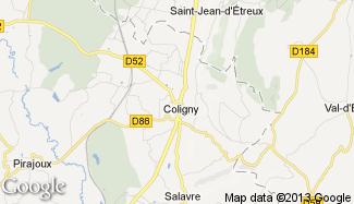 Plan de Coligny