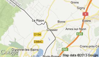 Plan de Divonne-les-Bains