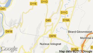 Plan de Nurieux-Volognat