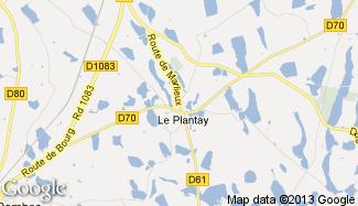Plan de Le Plantay
