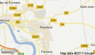 Plan de Reyrieux