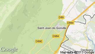 Plan de Saint-Jean-de-Gonville