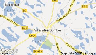 Plan de Villars-les-Dombes