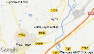 Plan de Villieu-Loyes-Mollon