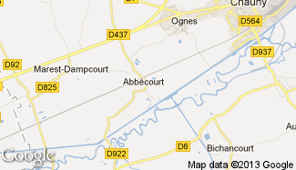Plan de Abbécourt