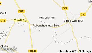 Plan de Aubencheul-aux-Bois