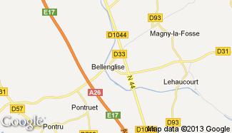 Plan de Bellenglise