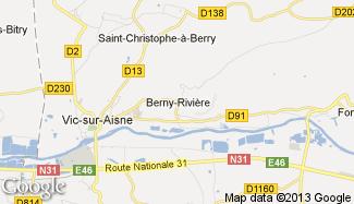 Plan de Berny-Rivière