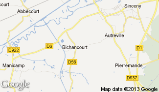Plan de Bichancourt