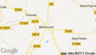 Plan de Blérancourt