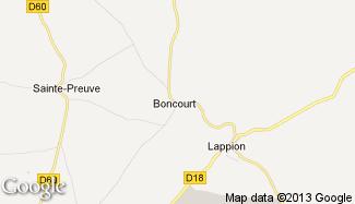 Plan de Boncourt