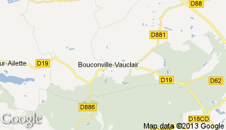Plan de Bouconville-Vauclair