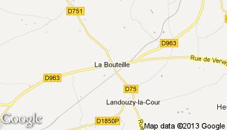 Plan de La Bouteille