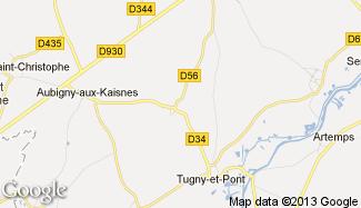 Plan de Bray-Saint-Christophe