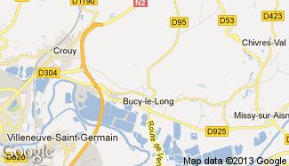 Plan de Bucy-le-Long