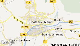 Plan de Château-Thierry