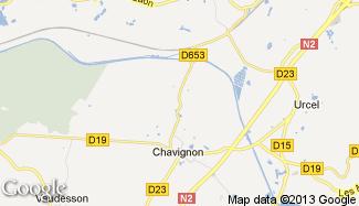 Plan de Chavignon