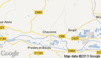 Plan de Chavonne
