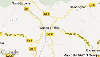 Plan de Condé-en-Brie