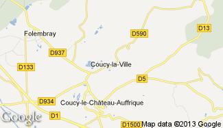 Plan de Coucy-la-Ville