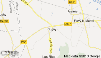 Plan de Cugny