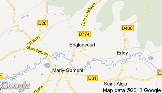 Plan de Englancourt