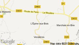 Plan de L'Épine-aux-Bois