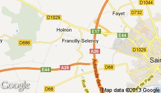 Plan de Francilly-Selency