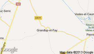 Plan de Grandlup-et-Fay