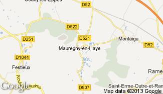 Plan de Mauregny-en-Haye