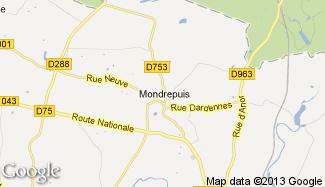 Plan de Mondrepuis