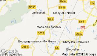 Plan de Mons-en-Laonnois