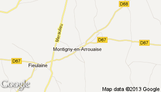 Plan de Montigny-en-Arrouaise