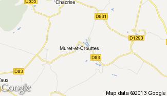 Plan de Muret-et-Crouttes