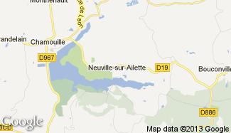 Plan de Neuville-sur-Ailette