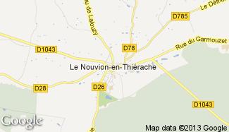 Plan de Le Nouvion-en-Thiérache