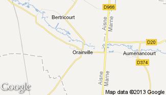 Plan de Orainville