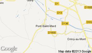 Plan de Pont-Saint-Mard