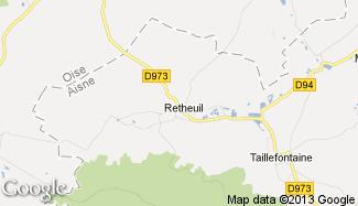 Plan de Retheuil