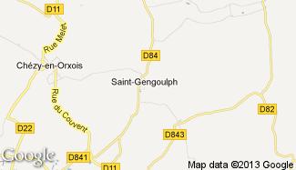 Plan de Saint-Gengoulph