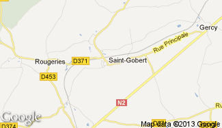 Plan de Saint-Gobert