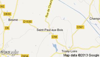 Plan de Saint-Paul-aux-Bois