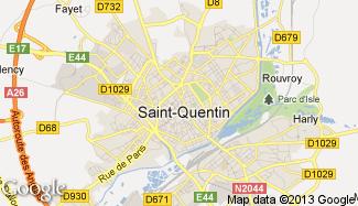 Plan de Saint-Quentin